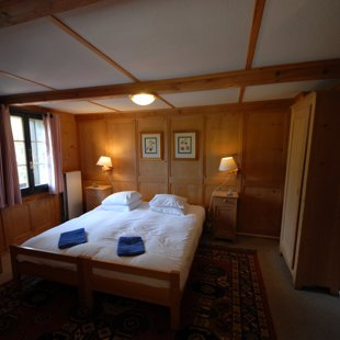 Bedroom 4 - family room with double/twin bed plus bunk beds and private external bathroom